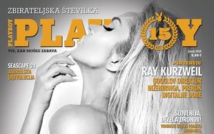 15 let slovenskega Playboya prinaša vročo zbirateljsko številko