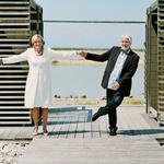 Gašper Tič: Borisu in Kseniji poklonil verz (foto: Osebni arhiv)