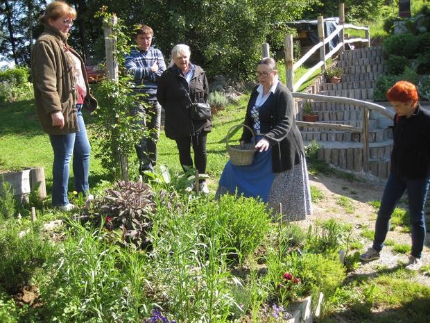 Več kot 90 zdravilnih rastlin je predstavila Jožica Bajc Pivec na Domačiji Pivec  (foto: Polona Simončič, Mojca Planšak)