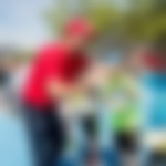 Na prireditvi »Igrajmo tenis!« več kot 250 otrok