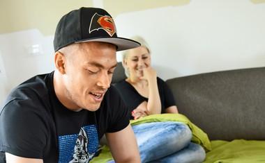 Nejc Vidmar: Blažen med samimi dekleti