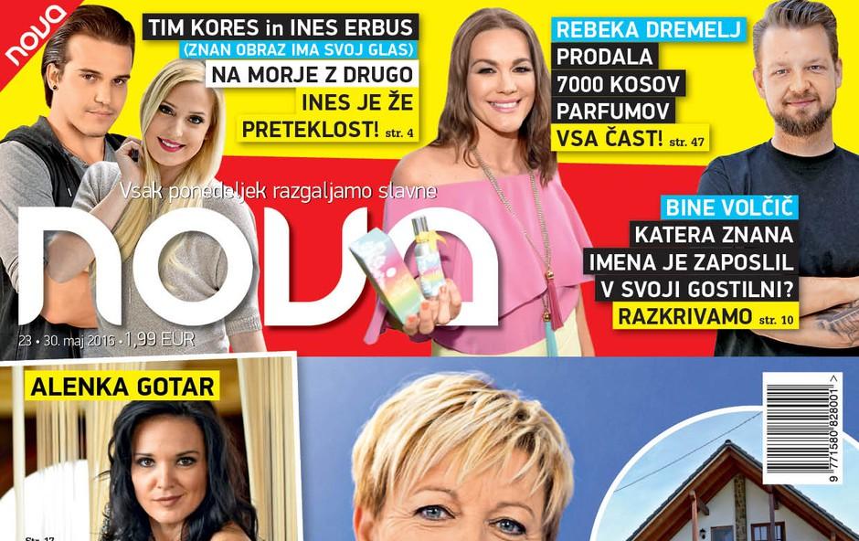 Rosvita Pesek se seli v Ljubljano, Tibor in Ana pa pričakujeta punčko!