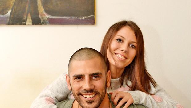 Tibor in Ana bosta  postala starša mali  deklici. (foto: Primož Predalič)