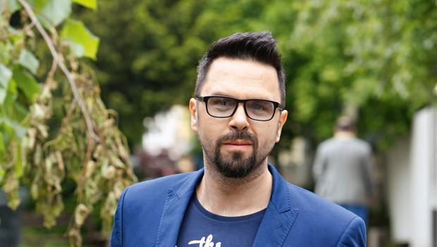 Petar Grašo: Včasih ga je strah, ali ga imajo ljudje resnično radi (foto: arhiv revije Lea)