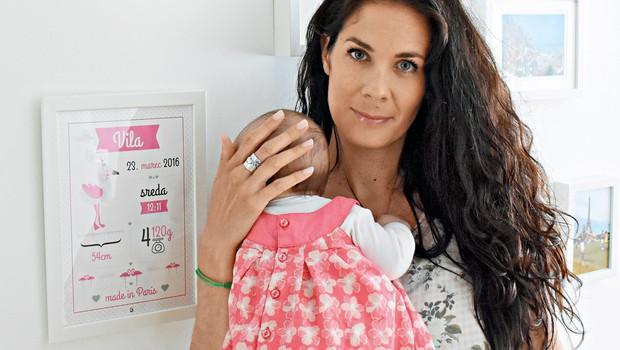 Ivjana Banič je lepa mami (foto: osebni arhiv)
