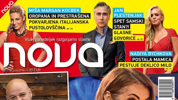 Jan Plestenjak spet samski, z Mirelo in Markom pa še ni konec? V novi Novi!