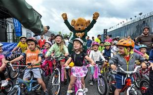 35. Maraton Franja navkljub slabemu vremenu z več kot 6.000 kolesarjev
