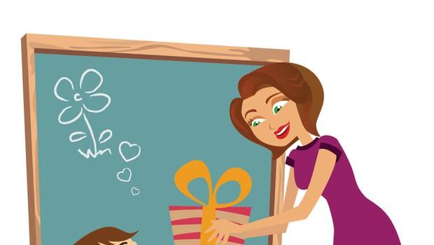 Odločitev za darilo učiteljici ob koncu šolskega leta prepustite otrokom!