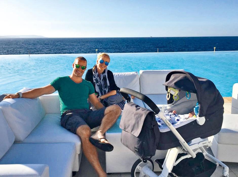 Mlada družina je prvi skupni dopust preživela na Malti.  (foto: osebni arhiv)