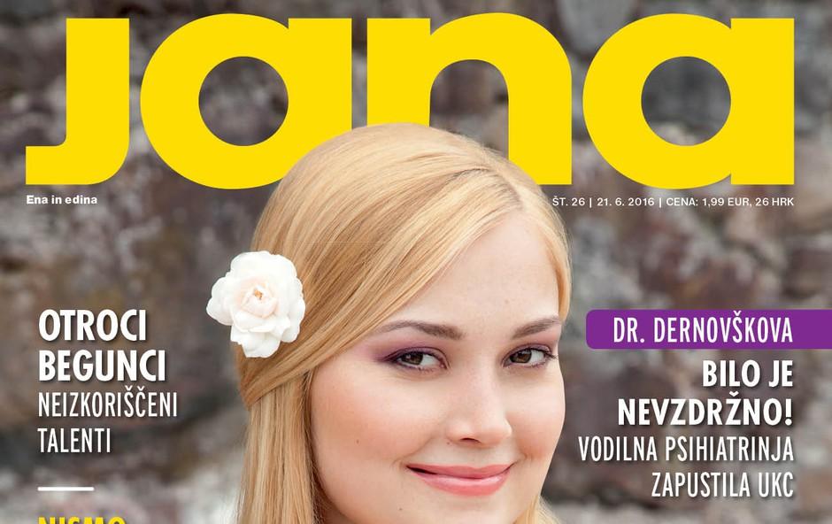 Vodilna psihiatrinja dr. Dernovšek zaradi nevzdržnih razmer zapustila UKC, piše nova Jana! (foto: Jana)