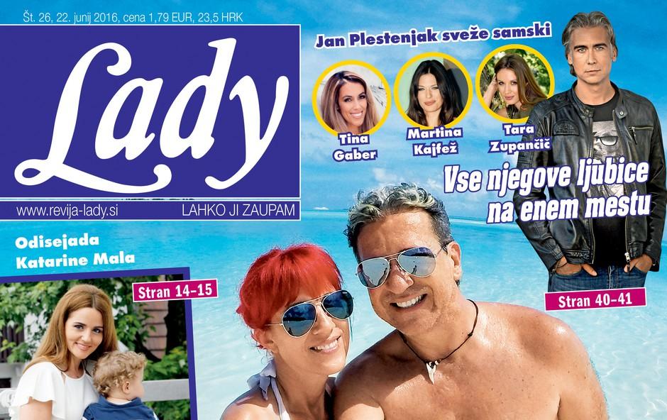 Kako živijo žene slovenskih športnikov? Piše nova Lady! (foto: revija Lady)