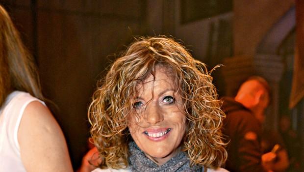 Breda ni pričakovala, da jo bodo  tako prikazali v šovu Bilo je  nekoč – brez cenzure.  (foto: Primož Predalič)