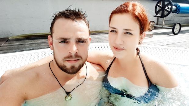 Klemen in Anna sta izkoristila pretekle  sončne dni in se ohladila na mini  počitnicah na Bledu in v Bohinju. (foto: osebni arhiv)