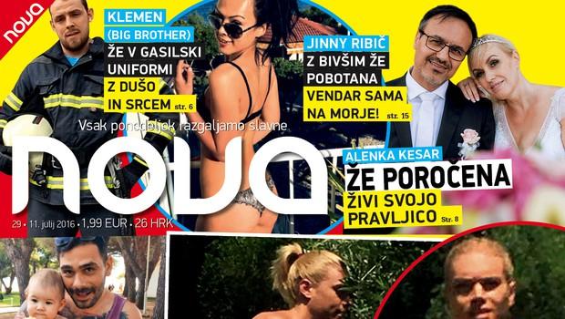 Počitniška nova Nova! V objektivu Pia, Teja, Jani in mala Sia, pa tudi Tibor in Ana! (foto: Nova)