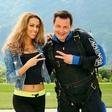 Rado Mulej in Tina Gaber skupaj preživela vikend v Bovcu