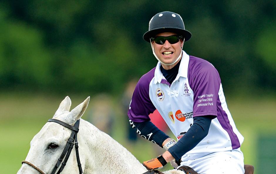 Princ William: Zbiral je denar za dober namen (foto: Profimedia)
