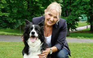 Alenka Godec je zaljubljena v pasmo border collie