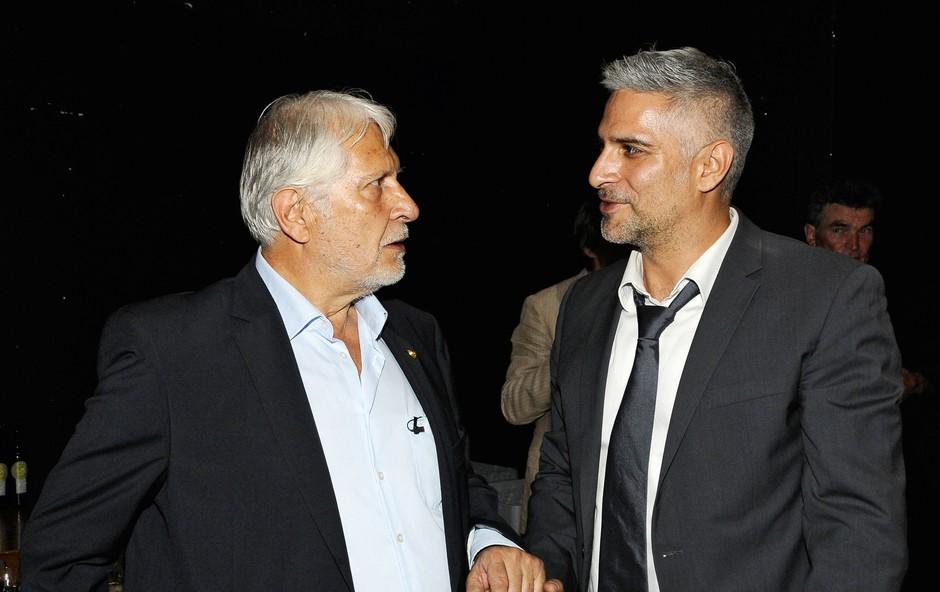 Sebastian in Boris Cavazza: Razlika je samo v letih (foto: Sašo Radej)