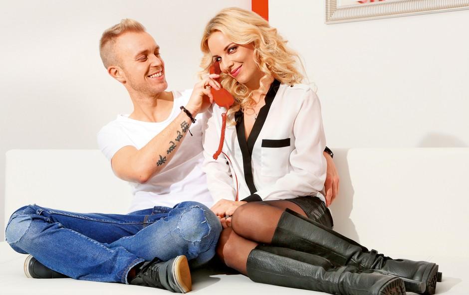 Mike Vale in Jasna Napotnik: Po šestih letih ljubezni poroka! (foto: MIMA)