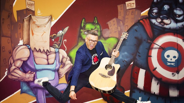 Samuel Lucas to poletje pravi Play that song! (foto: Maša Kores)