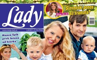 """Hajdi Korošec Jazbinšek je za revijo Lady priznala: """"Težko je!"""""""