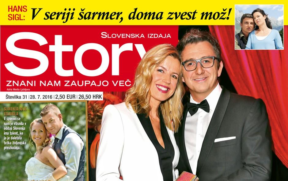 Vse ljubezni Hansa Sigla v novi Story!