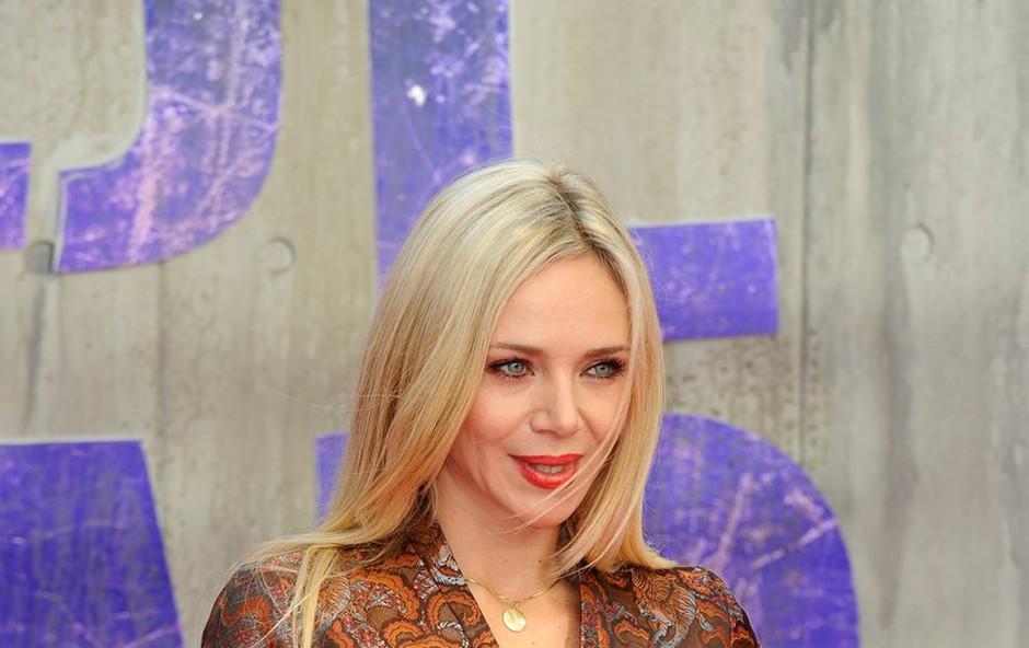 Katarina Čas se je v sredo udeležila težko pričakovane londonske premiere filma Odred odpisanih.  (foto: Profimedia)