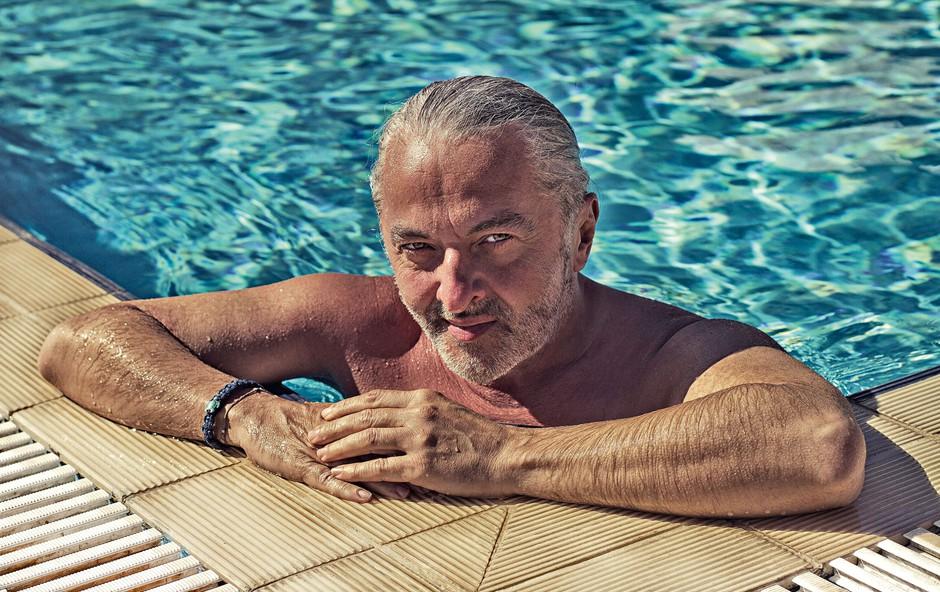 Milan Gačanovič: Poziral v Grčiji (foto: Nina Žnideršič)