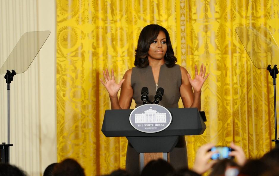 Michelle Obama: Slovo velike dame Bele hiše (foto: Profimedia)