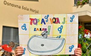 Osnovna šola Horjul: Po 40 letih do tople vode