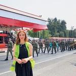 Med potjo na severni Ciper je v Istanbulu doživela državni udar. (foto: Kaja Milanič, osebni arhiv)