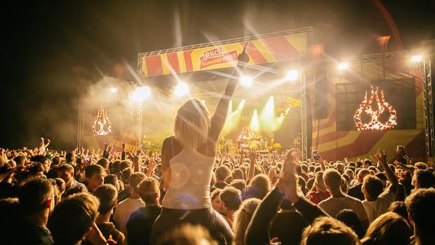 KKŠ Summer FEST postaja z rekordnim številom udeležencev eden večjih festivalov v Sloveniji (foto: Arhiv Klub koroških študentov)