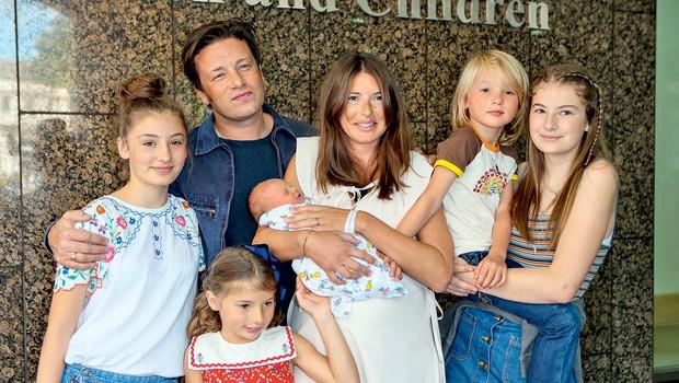 Jamie Oliver že petič postal očka (foto: Profimedia)
