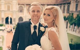 Mike Vale in Jasna: Na poroko naravnost s 'špila' na Hvaru