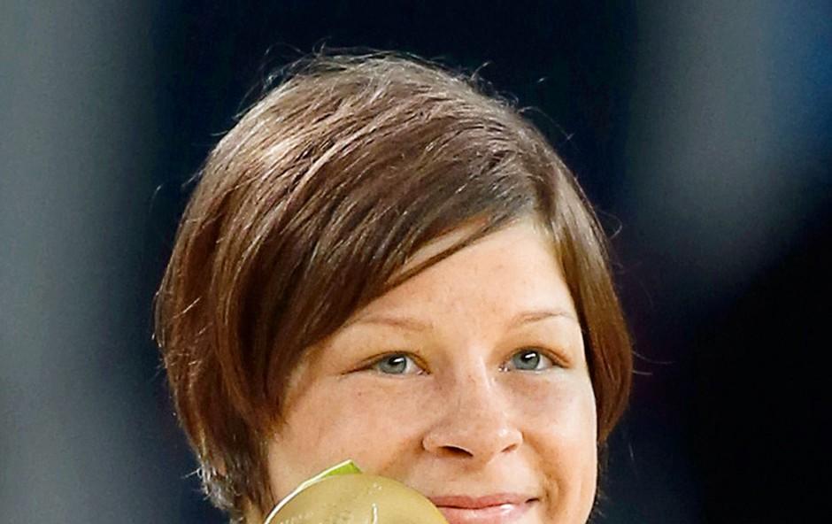 Tina Trstenjak: Olimpijska prvakinja z Lopate (foto: Profimedia)