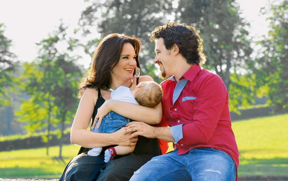 Alenka Gotar: Mali Nikolas je njuna sreča (foto: Primož Predalič)