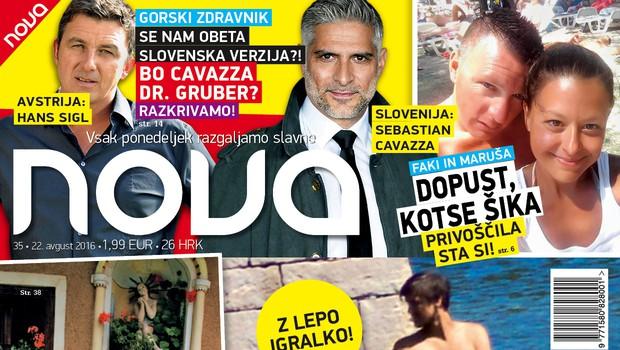 Nova objavila fotografije postavnega Klemna Janežiča s svojo drago na Visu