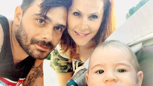 Teja Perjet In Jani Jugovic (Gostilna): Nov družinski član! (foto: osebni arhiv)