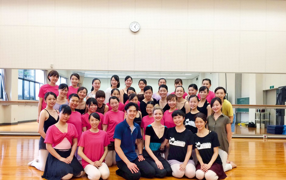 Navdihujoča zgodba baletnih umetnikov Barbare Potokar in Kenta Yamamoto (foto: osebni arhiv)