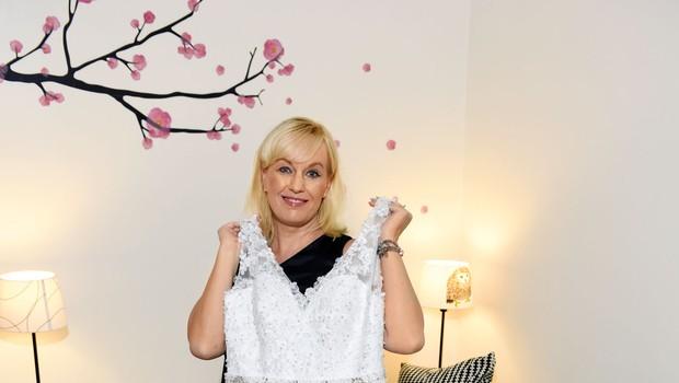 Alenka Kesar: Martini podarila poročno obleko (foto: Igor Zaplatil)