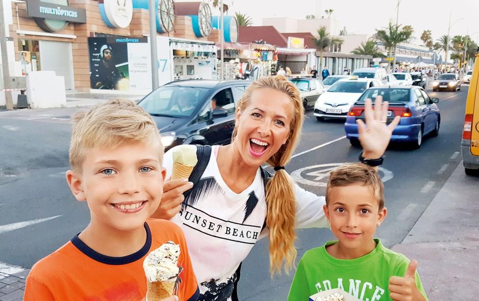 Natka Geržina: Z družino obožujejo potovanja! (foto: osebni arhiv)