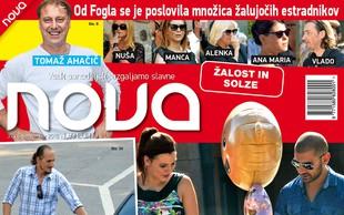 Paparac ujel Ano, Tiborja in Naomi ob odhodu iz porodnišnice! Več v novi Novi!