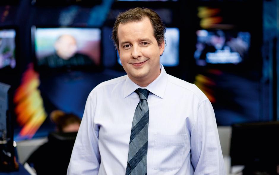 Janez Usenik,  novinar, igralec in komik (foto: osebni arhiv)