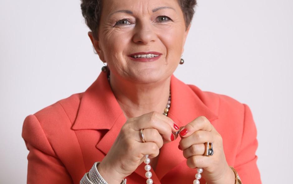 Vladimira Fink Pavlin, direktorica Zlatarne Aura in Zlatarne Karat! (foto: Barbara Reya)