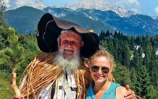 Nuša Derenda: Prvič na Veliki planini