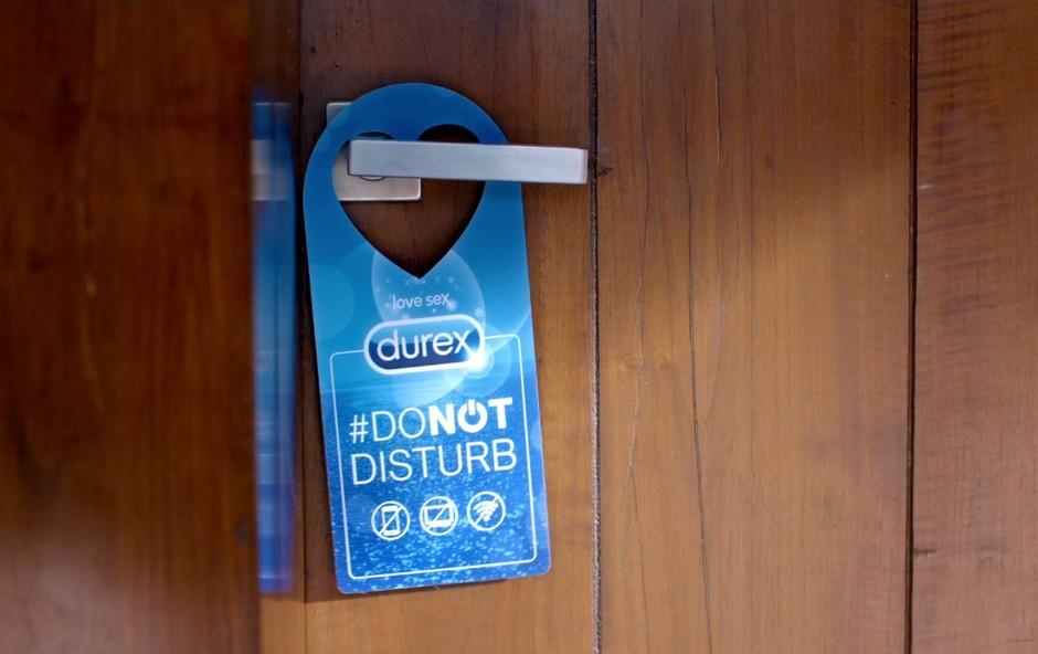 Za več in boljši seks: Durex lansiral družbeni eksperiment #donotdisturb! (foto: Durex)