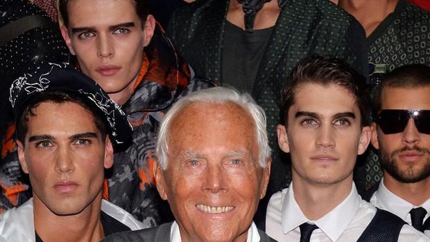 Kaj bi počel Giorgio Armani, če ne bi postal modni oblikovalec? (foto: Profimedia)