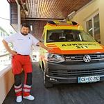 """Dorijan Zabukovšek: """"Pravi junaki so zame prvi očividci, ki pomagajo!"""" (foto: Gregor Kartič)"""
