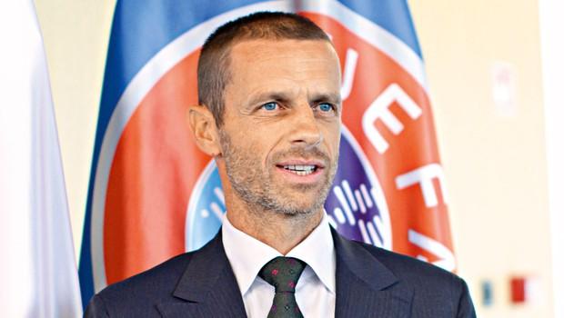 "Aleksander Čeferin: ""Sem nogometni fanatik"" (foto: Goran Antley)"