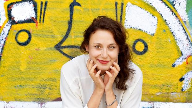 Anja Drnovšek čuva zasebno življenje (foto: Primož Predalič)
